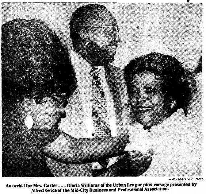 November 7 1975 Lucy Carter North Omaha Nebraska