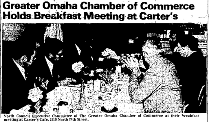 1977 Greater Omaha Chamber of Commerce