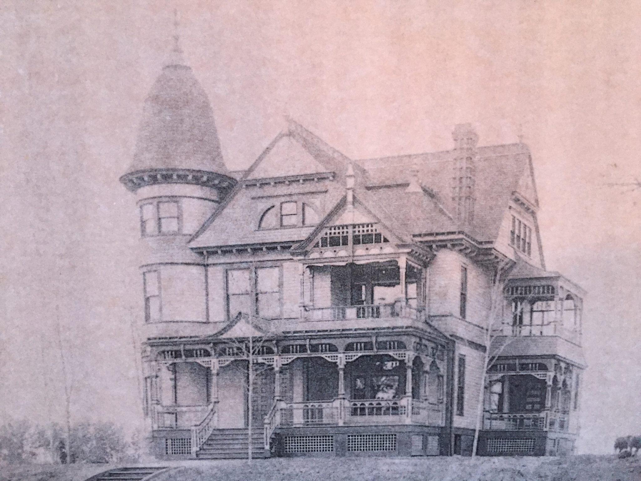 1888 Edgar Zabriskie House 3524 Hawthorne Avenue North Omaha Nebraska