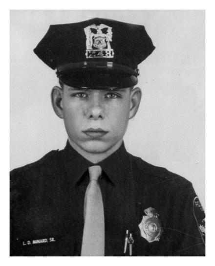 Omaha Police Department patrolman Larry Minard, Sr. (b. 1949, d. 1970)