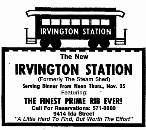 Irvington Station 9414 Ida Street North Omaha Nebraska