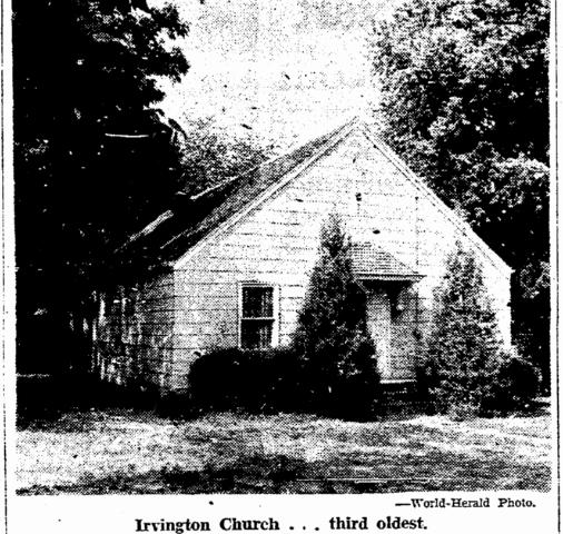 1937 Irvington Congregational Church Nebraska