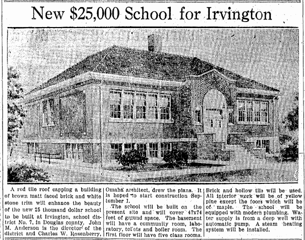 Irvington School North Omaha Nebraska