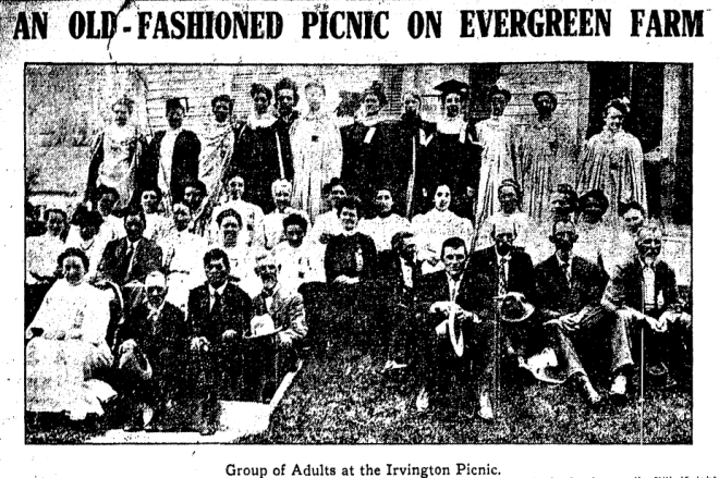 Evergreen Farm Irvington Nebraska 1907