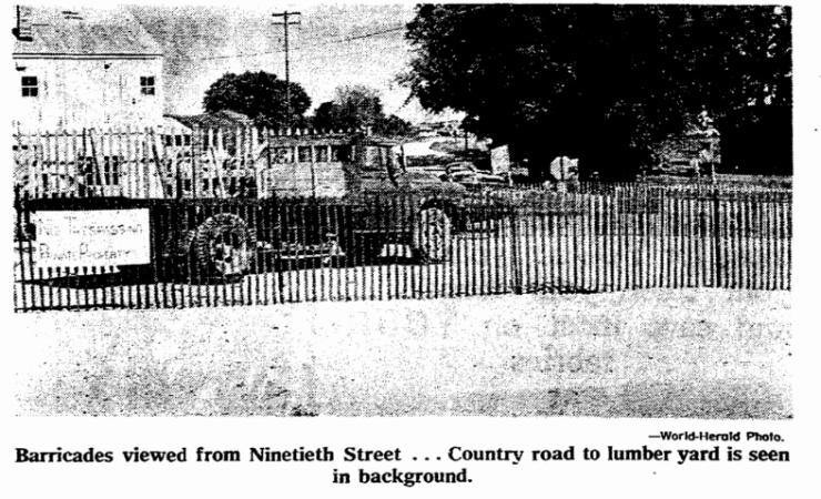 Walter Green Road Dispute Irvington Nebraska