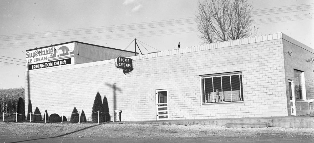 1946 pic of Irvington Dairy Omaha Nebraska