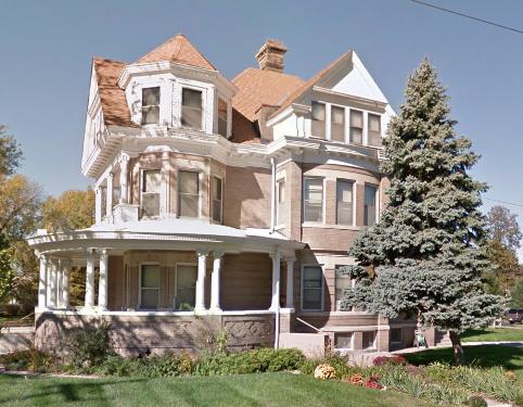 1903 Shepard House at 1802 Wirt Street in North Omaha Nebraska