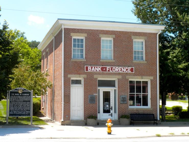 Bank of Florence 8502 North 30th Street North Omaha Nebraska