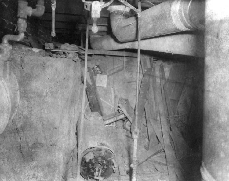 David Rice house basement at 2816 Parker Street, North Omaha, Nebraska