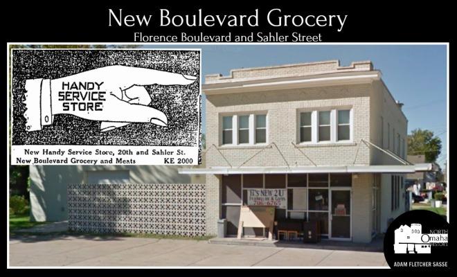 New Boulevard Grocery Store, North Omaha, Nebraska
