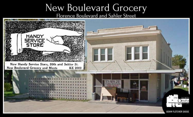 New Boulevard Grocery Store, North Omaha, Nebraska