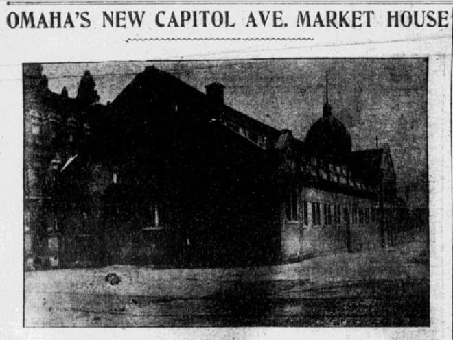 Omaha Market House, N. 14th and Capitol Ave., Omaha, Nebraska