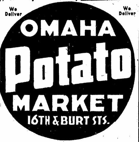 Omaha Potato Market, N. 16th and Burt St., Omaha, Nebraska