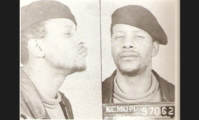 Pete O'Neal headed the Black Panthers in Kansas City and was arrested by ATF for transporting a shotgun across a state line. Mondo traveled to Kansas City to speak at a rally for O'Neal and police used Mondo's absence to search his house. (credit: Kansas City Police Department)