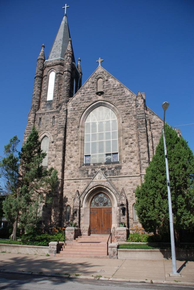 Sacred Heart Church 2206 Binney Street North Omaha Nebraska 68111