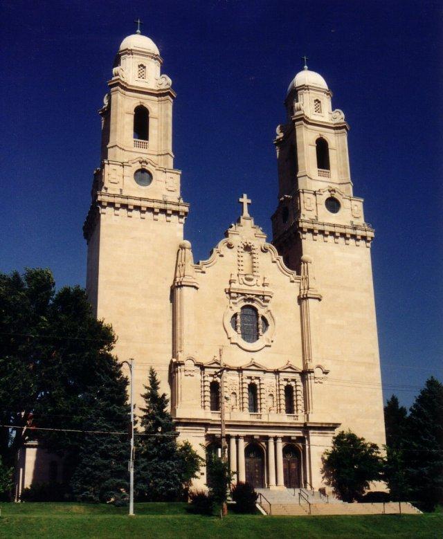 Saint Cecilia Cathedral, 701 N. 40th St., North Omaha, Nebraska