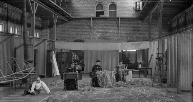 Omaha Market House interior in 1903