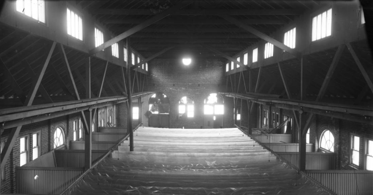 Omaha Market House interior in 1903