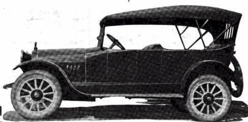 Douglas Motor Company touring car, Omaha, Nebraska