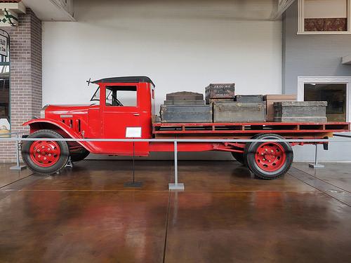 Douglas Truck made in North Omaha, Nebraska