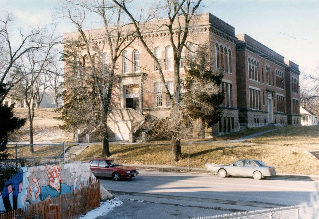 Monmouth Park School Apartments, North Omaha, Nebraska