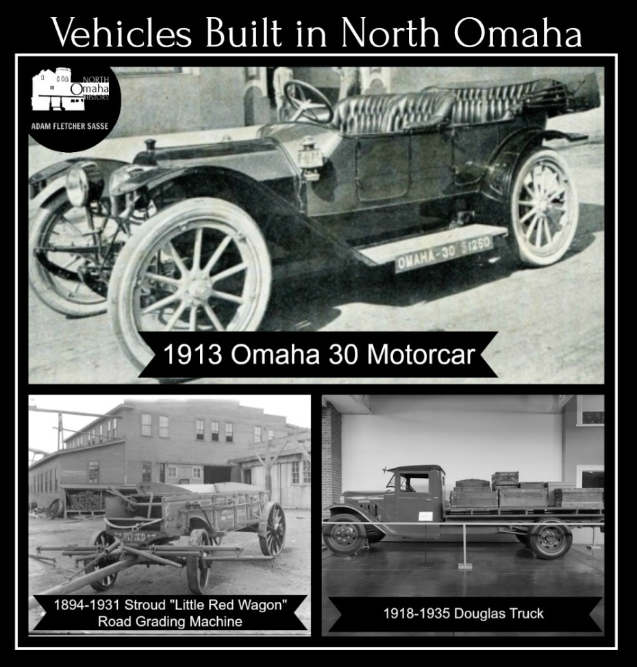 These are vehicles built in North Omaha from 1894 to 1935.