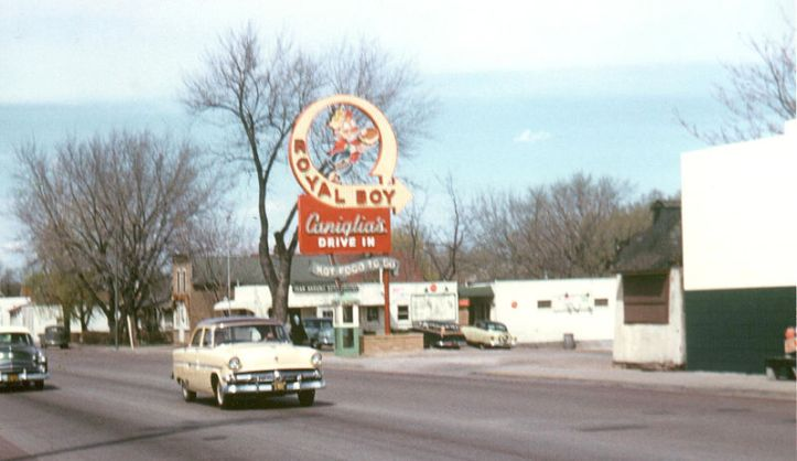 Caniglia's Royal Boy Drive-In, N. 30th and Fort Streets, North Omaha, Nebraska