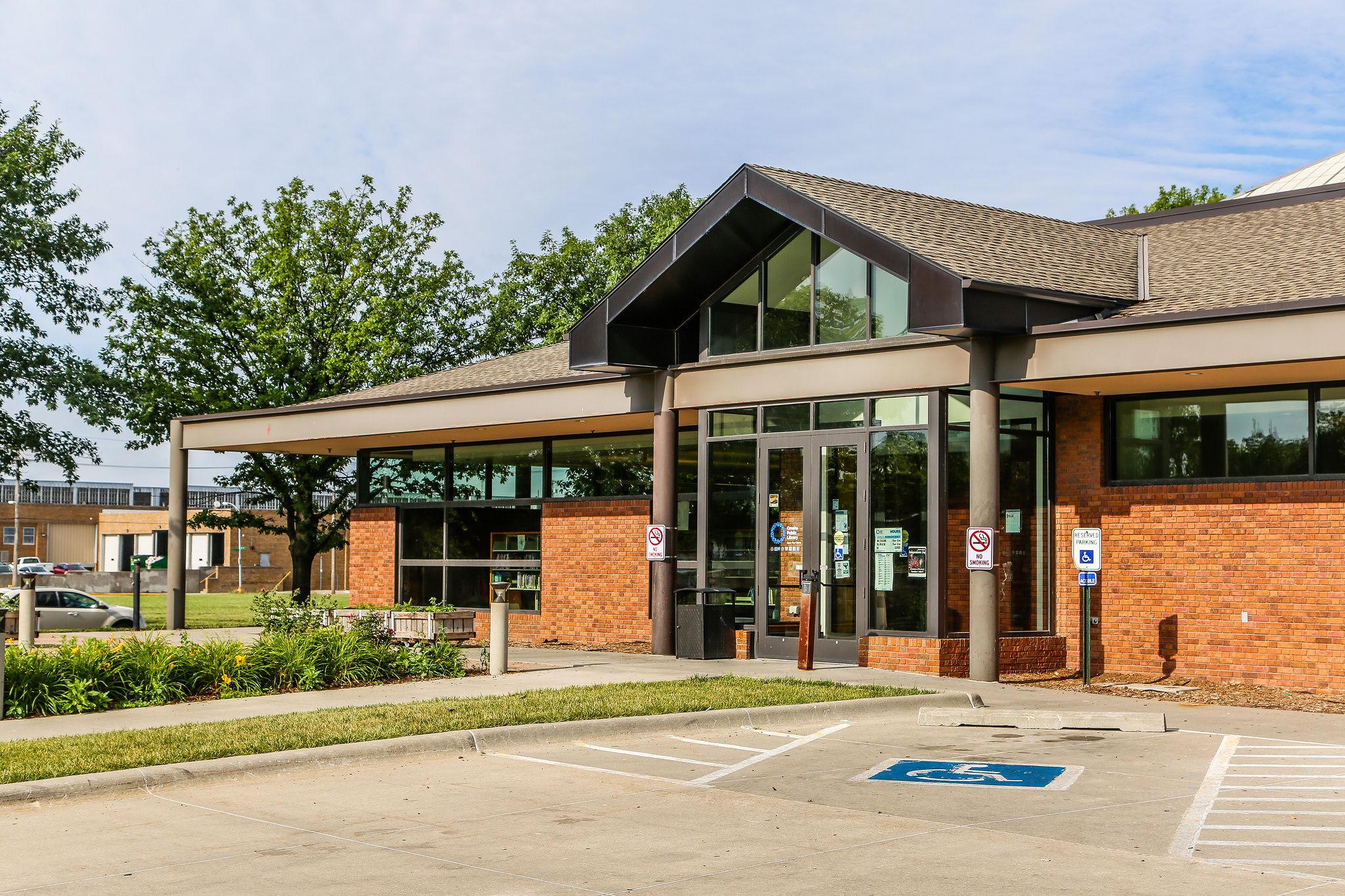 Charles B. Washington Branch Omaha Public Library, 2868 Ames Avenue, North Omaha, Nebraska