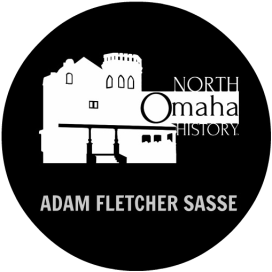 North Omaha History by Adam Fletcher Sasse logo