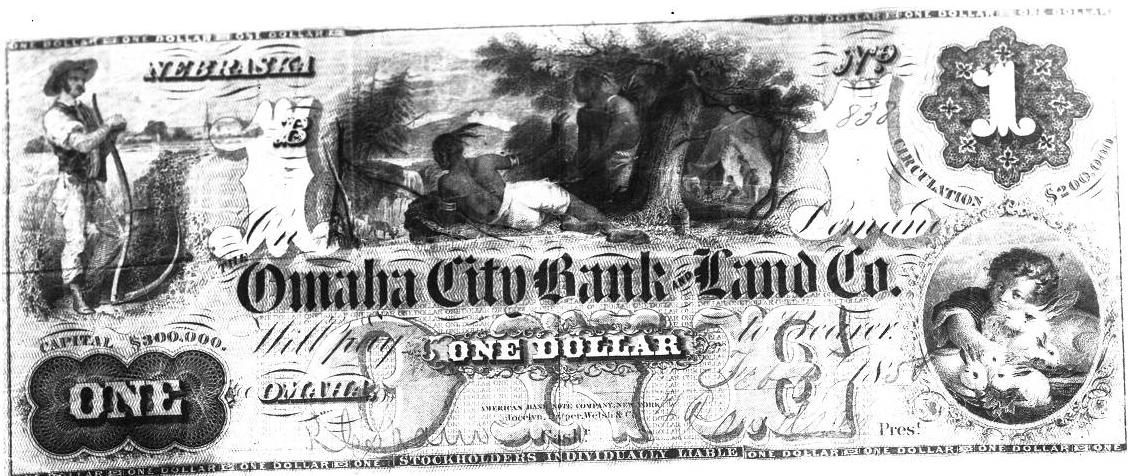 Omaha scrip 1868
