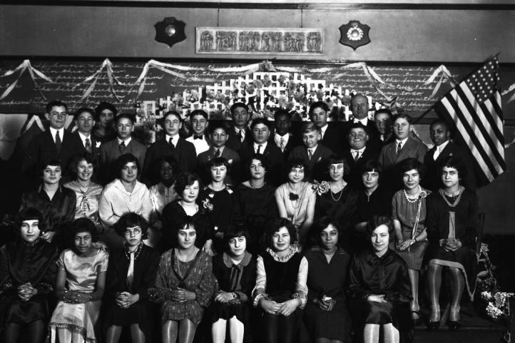 1930s Kellom School pic, North Omaha, Nebraska