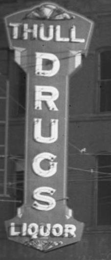 Thull Drug, 24th and Cuming, North Omaha, Nebraska