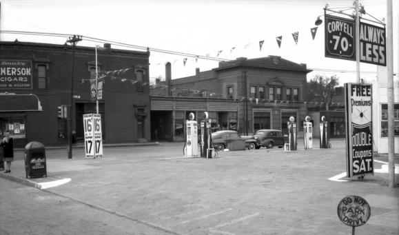 1942 at 24th and Cuming, North Omaha Nebraska