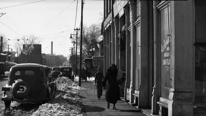 27th and Cuming in the 1940s