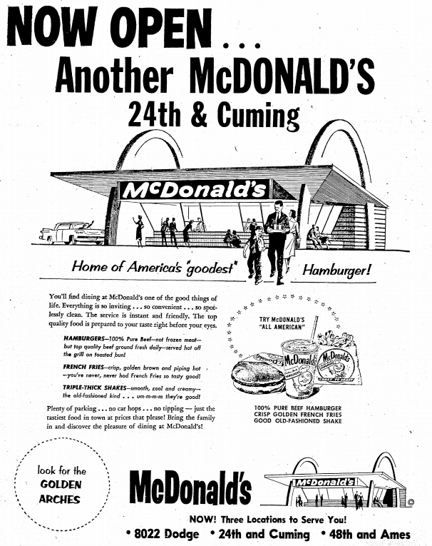 McDonald's, 24th and Cuming, North Omaha, Nebraska