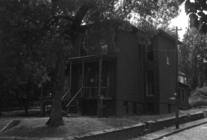A 1964 pic of 984 North 25th Street, North Omaha, Nebraska