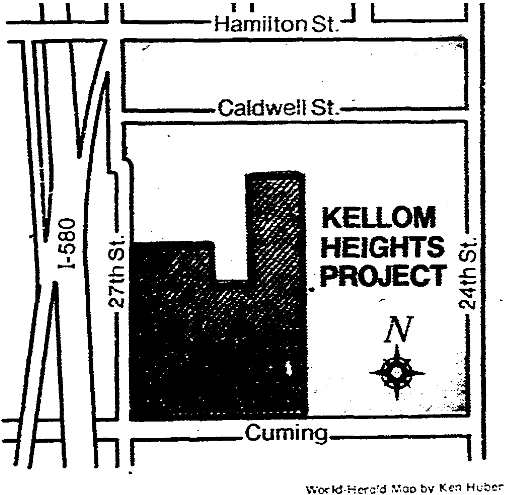 Kellom Heights Redevelopment Project, North Omaha, Nebraska