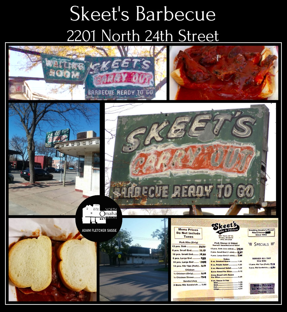 Skeet's BBQ, 2201 N. 24th St., North Omaha Nebraska