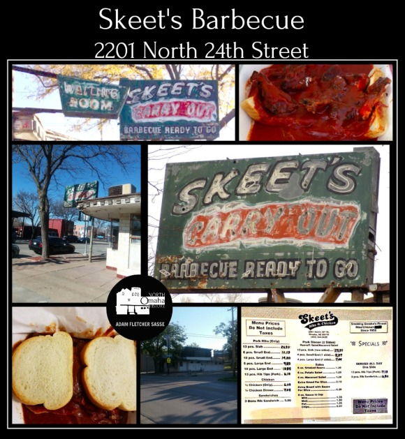Skeet's BBQ, 2201 N. 24th St., North Omaha Nebraska