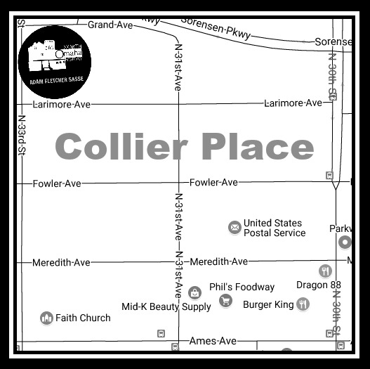 Collier Place neighborhood, North Omaha, Nebraska