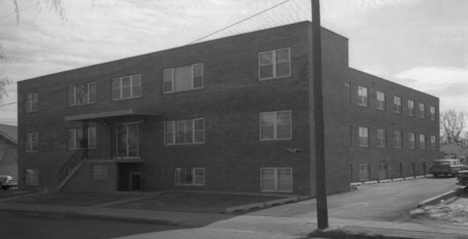 Gatchell Apartments, 3025 Meredith Avenue, North Omaha, Nebraska