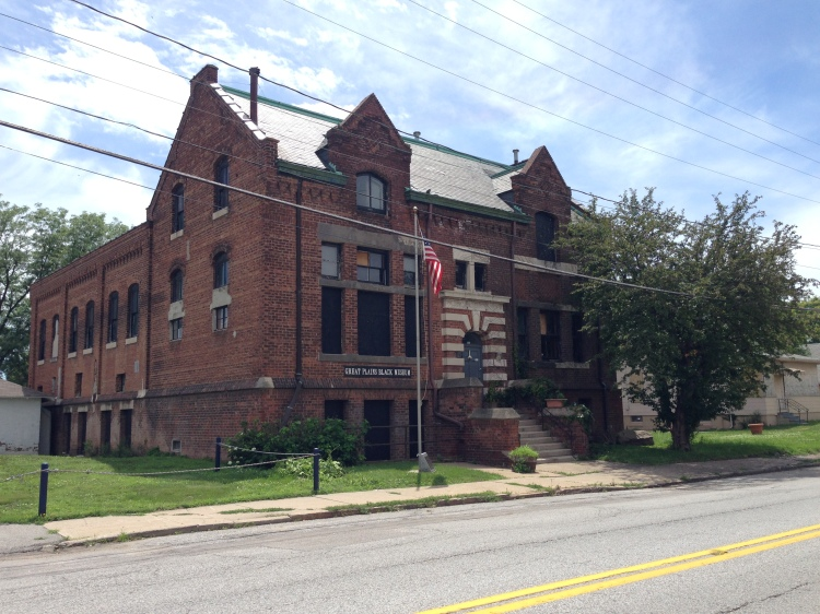 Original North Side YMCA, 2213 Lake Street, North Omaha, Nebraska