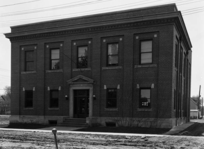 This is the Kenwood Telephone Exchange Building that was at N. 30th and Fowler St in North Omaha Nebraska