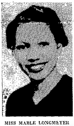 Mable , 1938 leader of the Omaha NAACP Youth Council.