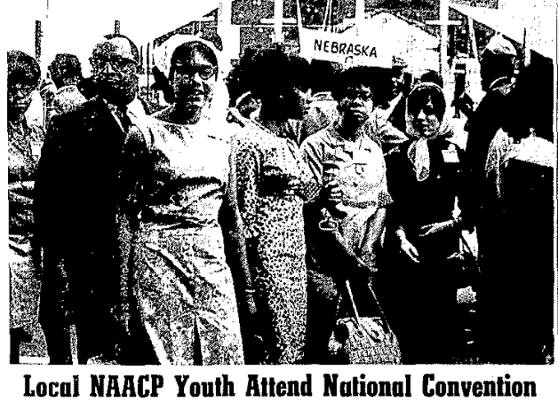 Omaha NAACP at the 1965 national NAACP convention