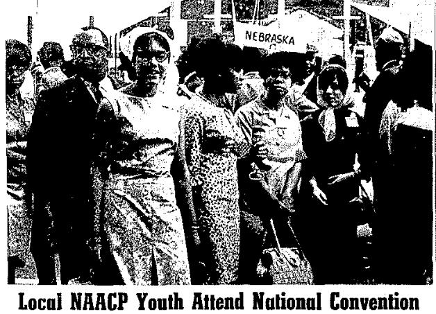 Omaha NAACP at the 1965 national NAACP convention