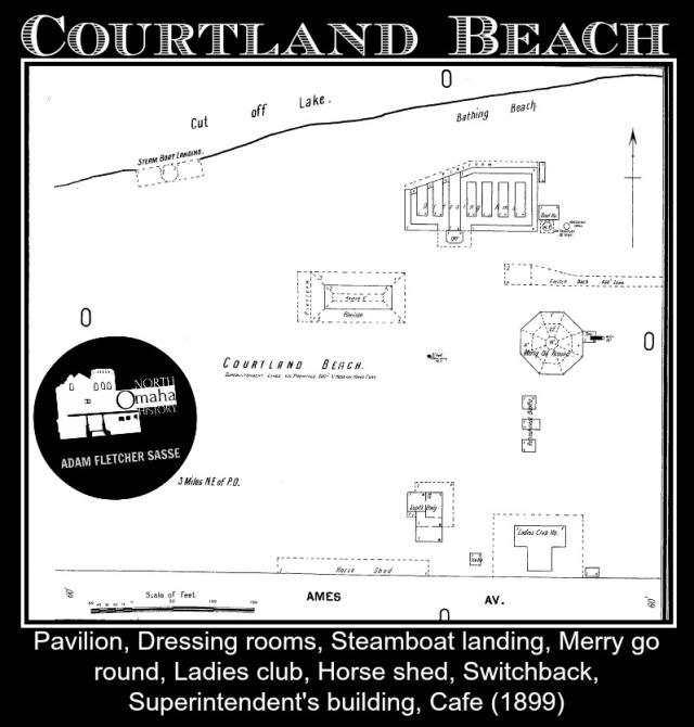 Courtland Beach, Carter Lake, Iowa