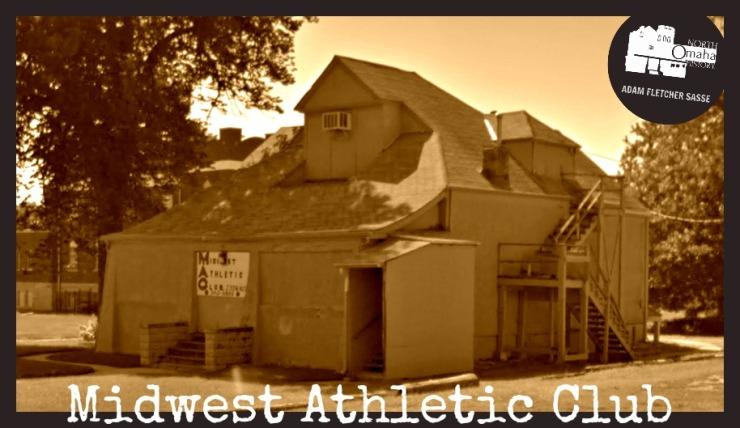 Midwest Athletic Club, N. 22nd and Grant, North Omaha, Nebraska