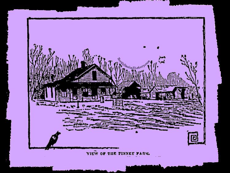 Pinney Farm, Millard, Nebraska, in 1891.