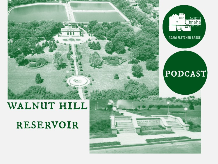 Podcast about Walnut Hill Reservoir, North Omaha, Nebraska